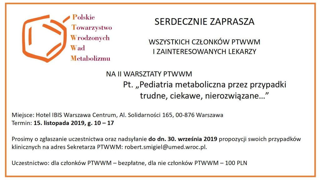 II Warsztaty PTWWM